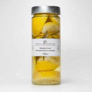 Moroccan Presrved Lemons 625ml/325q