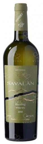 SAVALAN  Riesling Whire Dry 2010 0.75 l